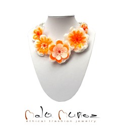 Collar Primavera Orange